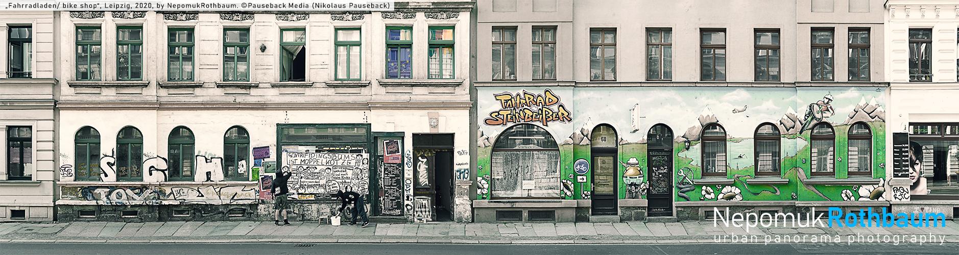 Farradladen / bike shop, Leipzig 2020, by Nepomuk Rothbaum, © Pauseback Media (Nikolaus Pauseback) 2020
