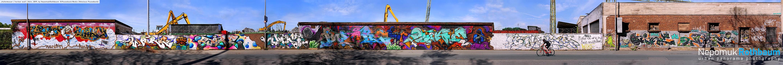 Hafenmauer / harbor wall, Köln 2019, by Nepomuk Rothbaum, © Pauseback Media 2019