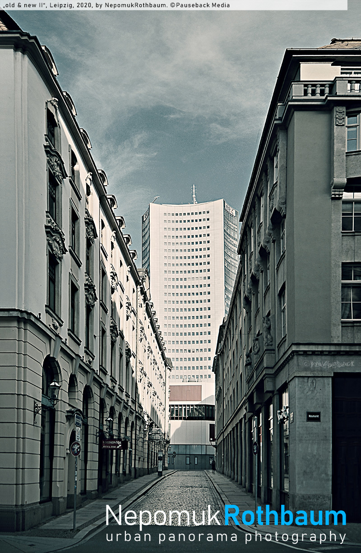 old & new II, Leipzig 2020, by Nepomuk Rothbaum, © Pauseback Media (Nikolaus Pauseback) 2020